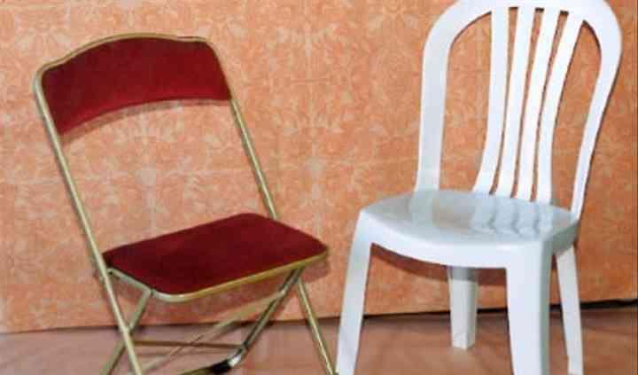 Chaises proposées à la location