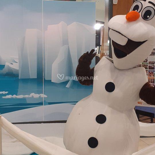 Olaf est dans l'équipe