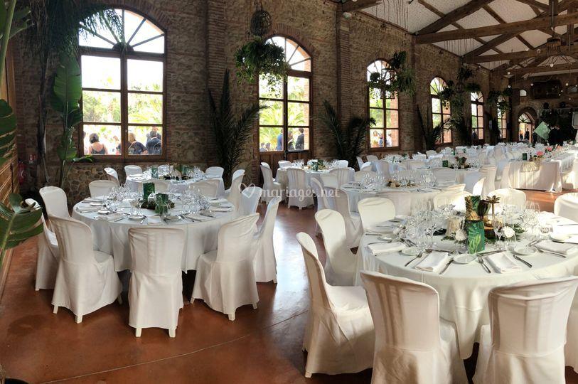 Salle de mariage du Mas
