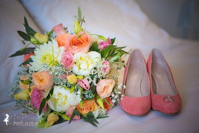 Bouquet & chaussures