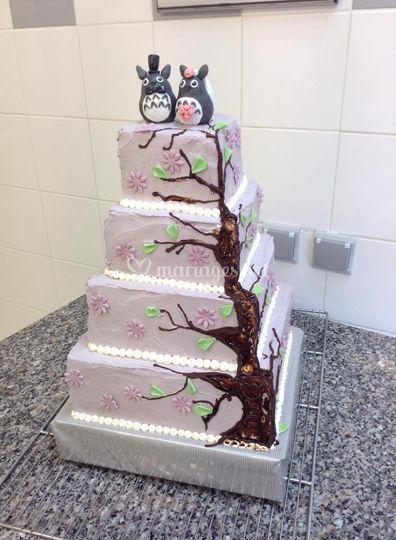 WeDding cake Totoro