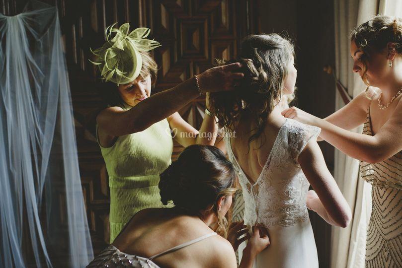 Les préparatifs du mariage