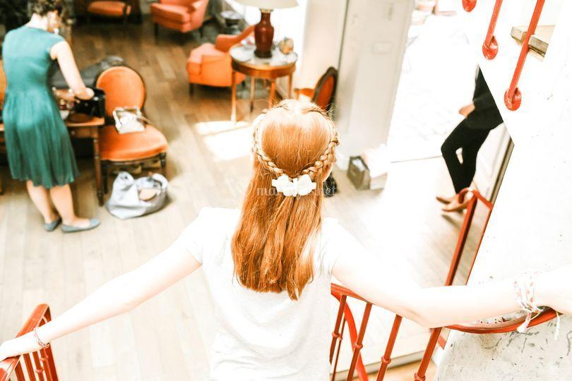 Mariage Agathe/coiffure