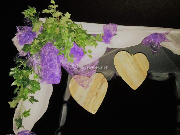 Arche champêtre Lilas
