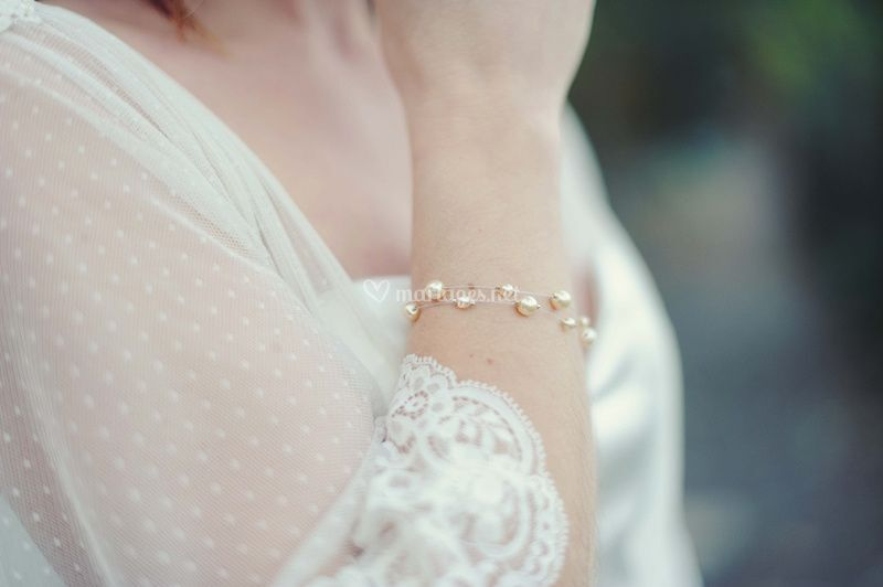 Bracelet mariée Mina