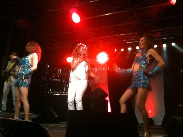 Chanteuse Danseuse Beent'a