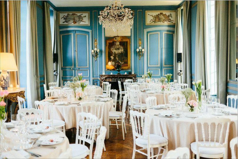 Château : salon bleu