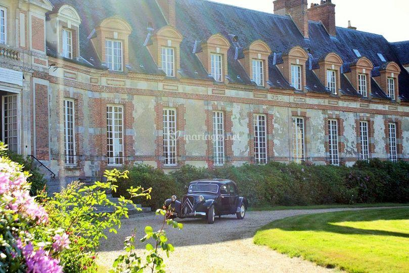 Château : Cour d'Honneur