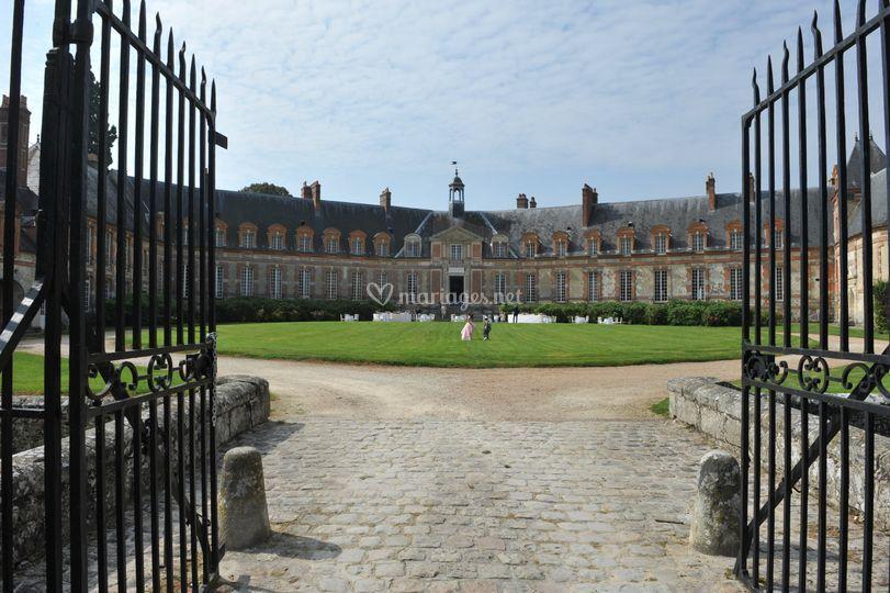 Château : Entrée Cour d'Honneu