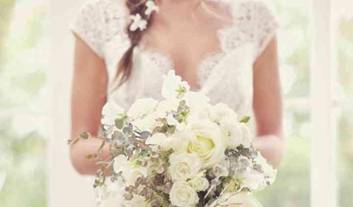 Bouquet de marié chic