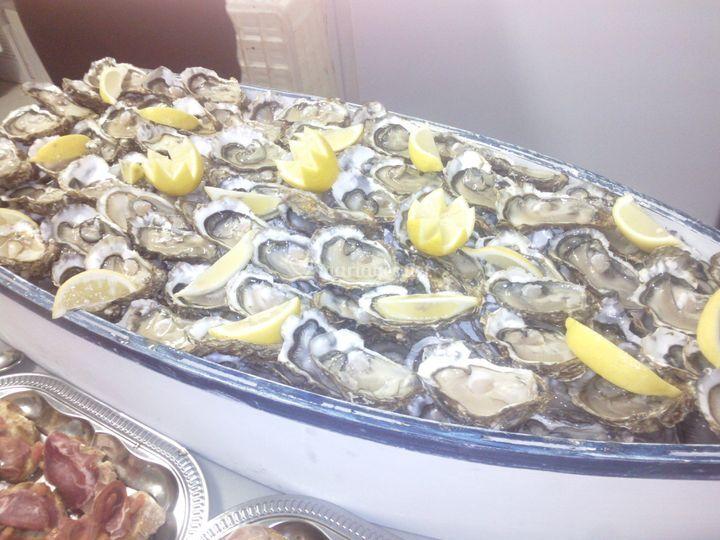 Barque a huîtres