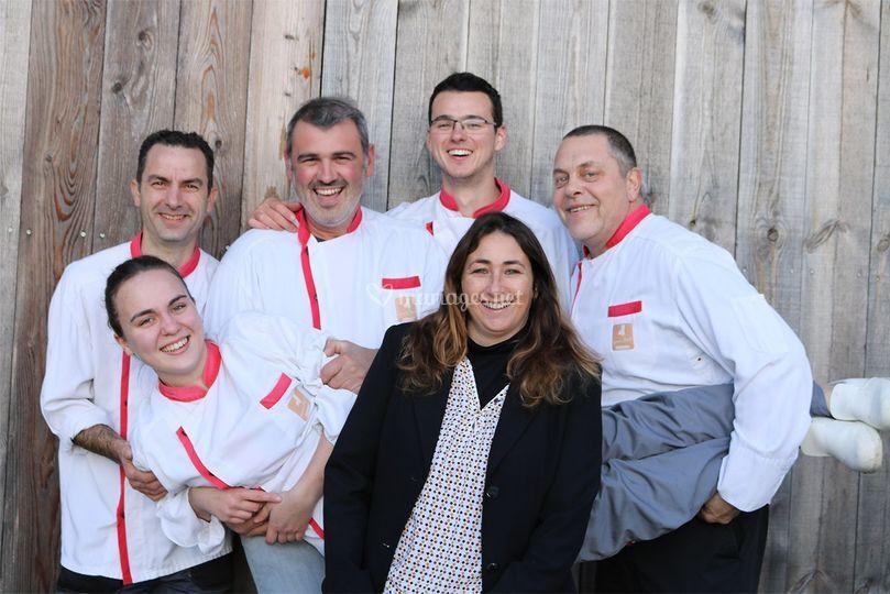L'équipe du Labo à Fontet