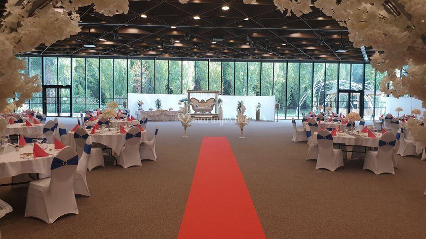 Salle événementielle 800 m²