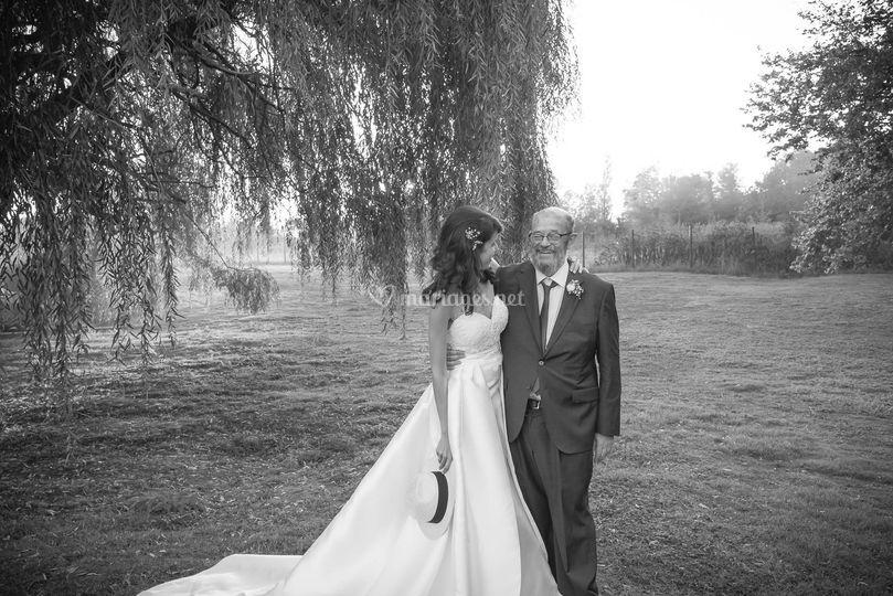 Partage d'un père et sa fille