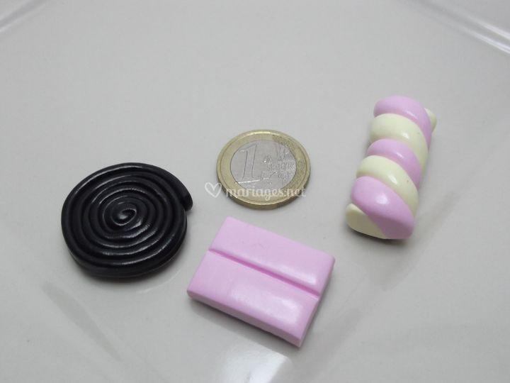 Magnets bonbons fimo