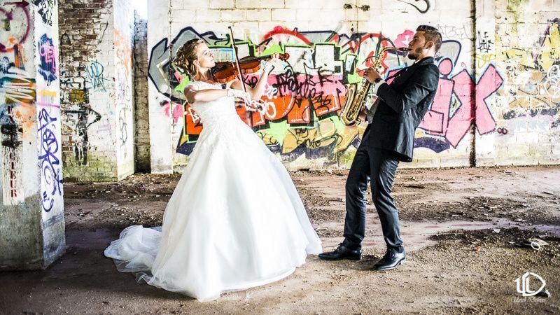 Mariage Musique et Urbex