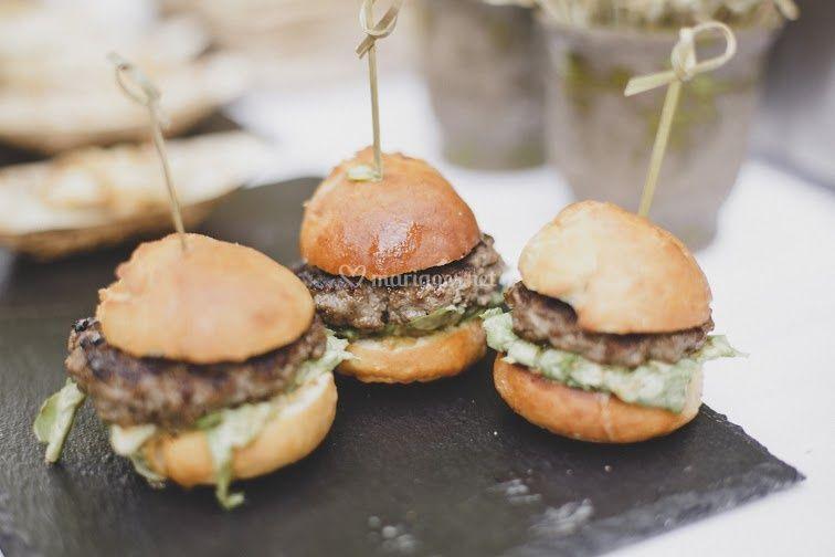 Mini--burgers