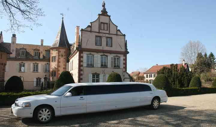 Limousine blanche