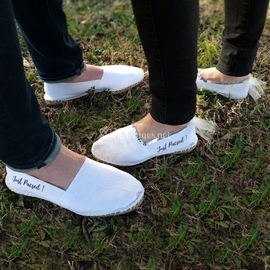 Espadrille couple Just Pacsed