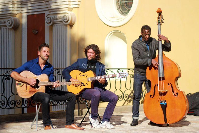 Groupe de jazz manouche Nice