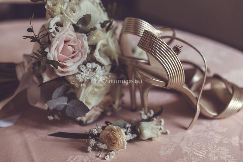 Les détails de la marirée