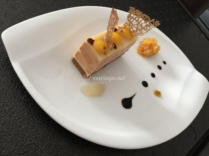 Opéra foie gras exotique
