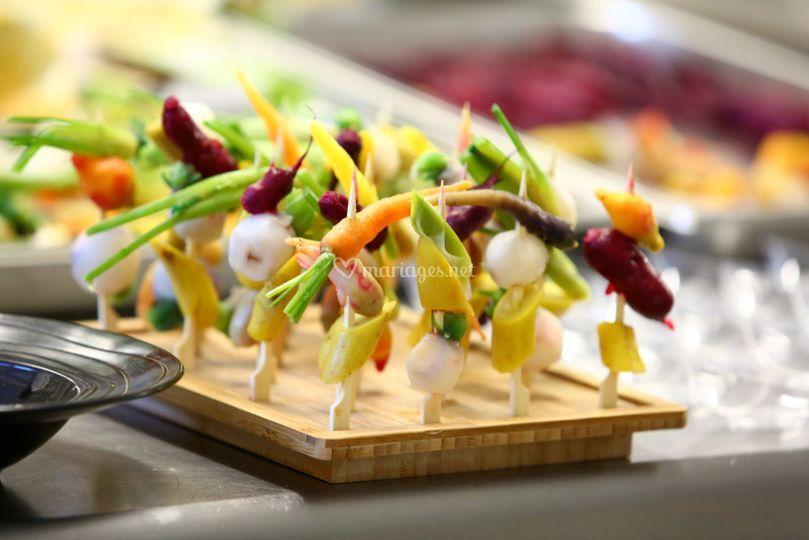 Mini légumes de saison