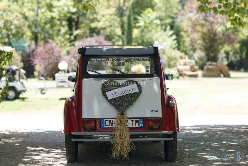Aix en 2cv for Decoration 2cv mariage