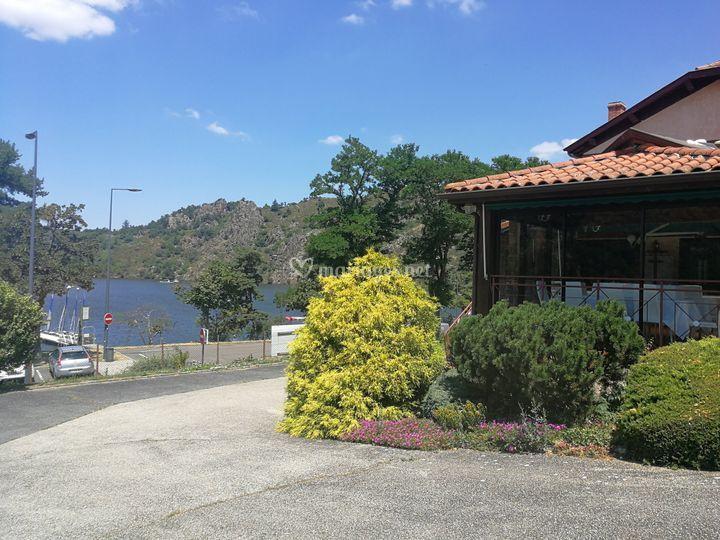 Extérieur Pavillon du Lac