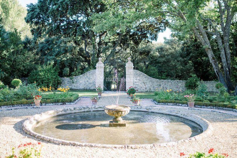 Château du Seuil Jardin