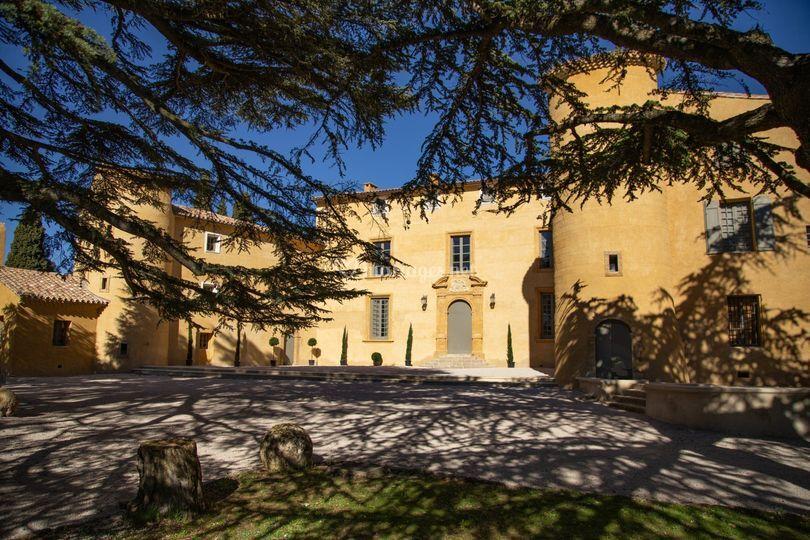Château du Seuil Façade