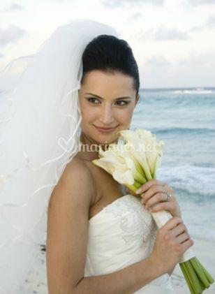 La mariée et la mer