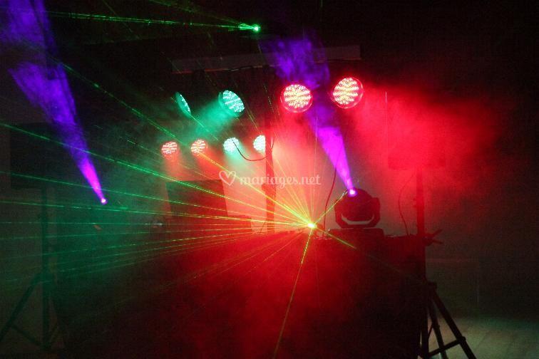 Lyres et Laser