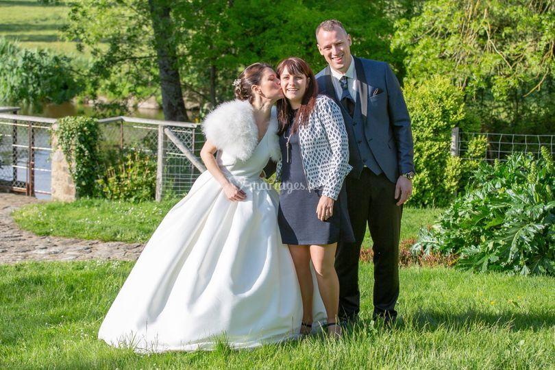 Les mariés & Pauline