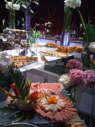 Mgevent buffet varié