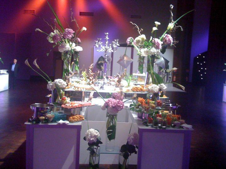 Mgevent buffet décoration