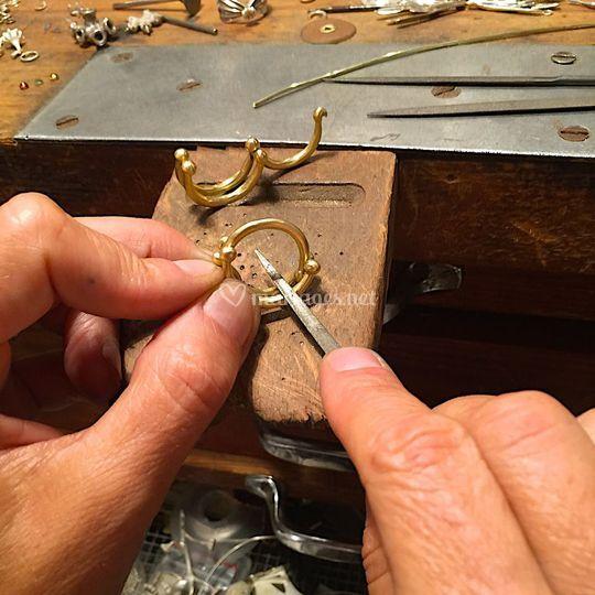 Travail des bijoux