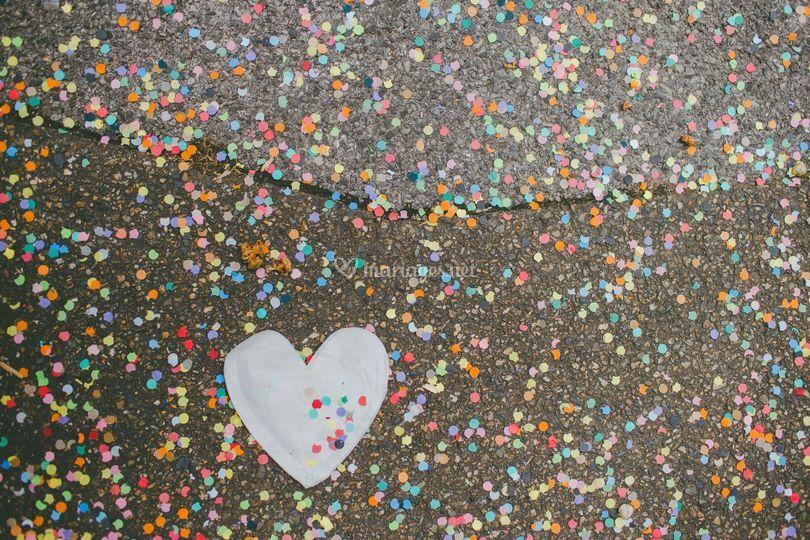 Confetti mariage chic et fun