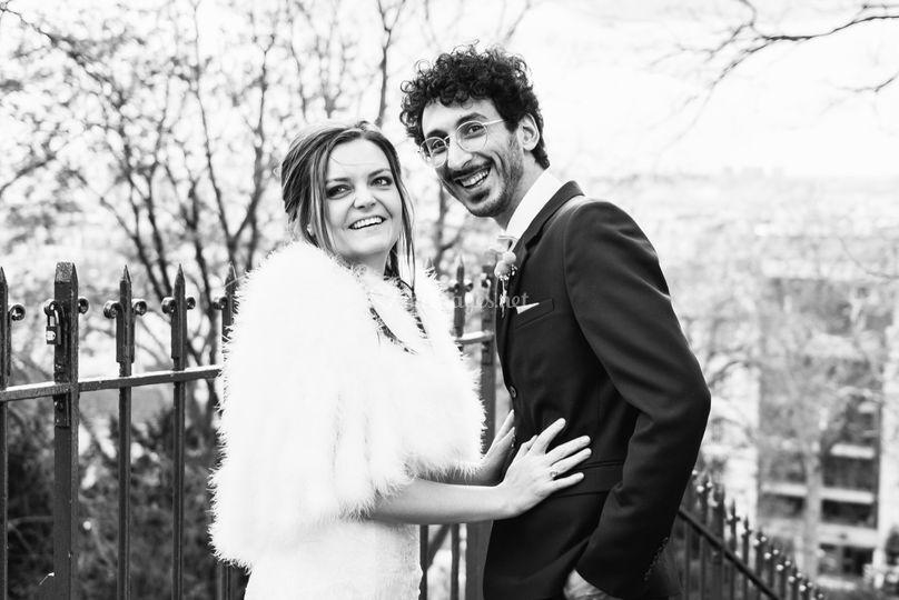 Couple Montmatre