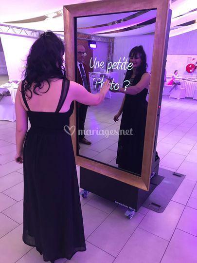 Miroir à selfie
