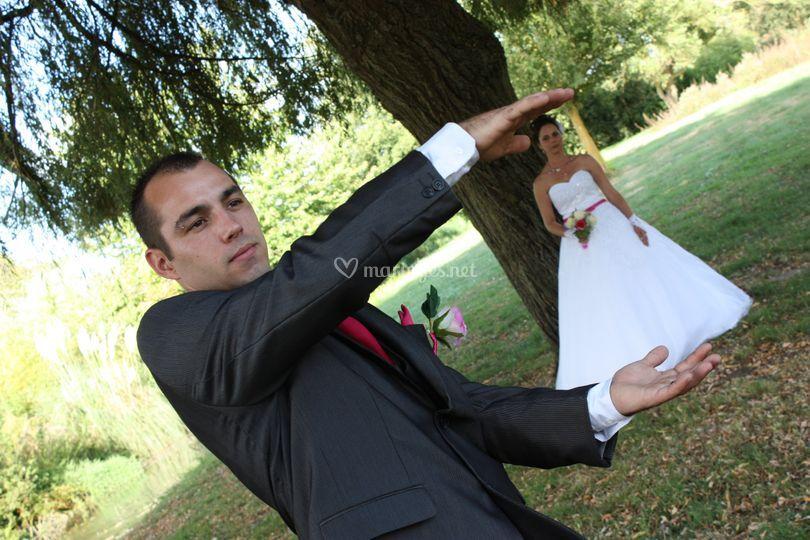 Une toute petite mariée