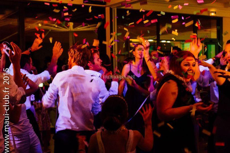 Ambiance fête et mariage