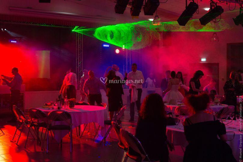 Laser show soirée 2018