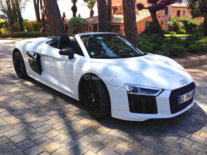 Audi r8 cabriolet