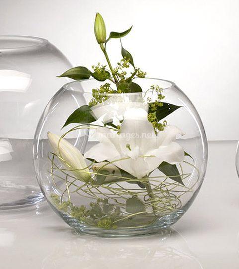 Vase rond en location