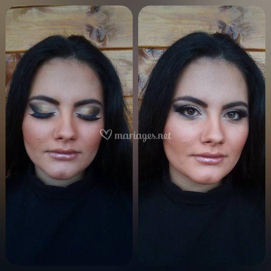 Maquillage de type libanais