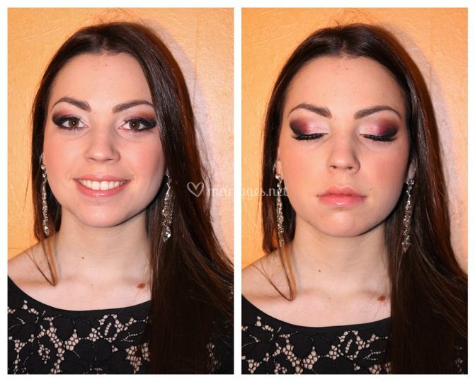Maquillage de soir