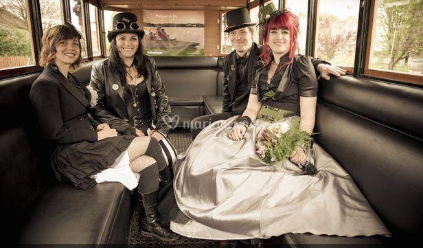 Mariage et intérieur omnibus