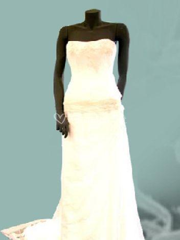 Robe style corset