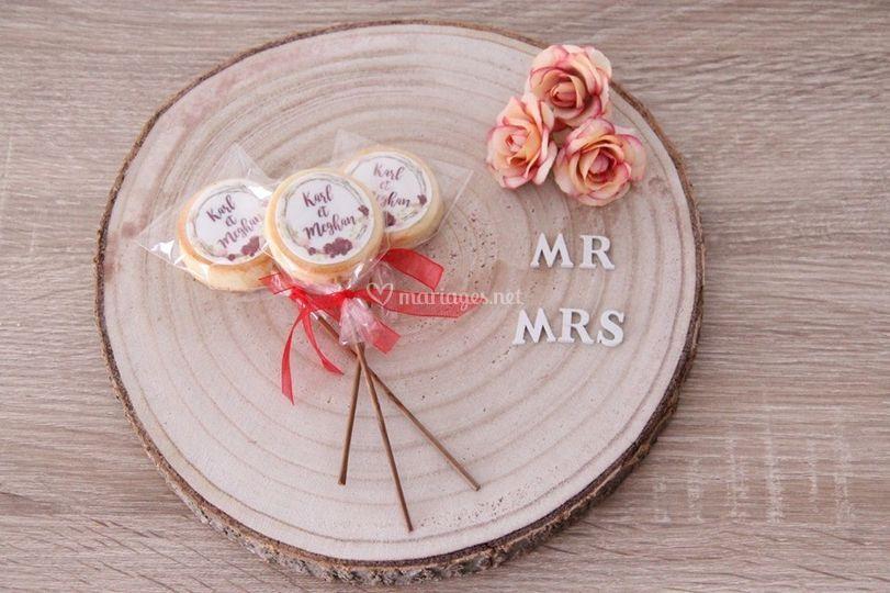 Cadeau d'invités: Biscuits